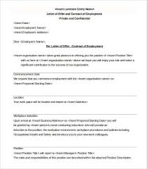 Best Ideas Of Appointment Letter Format Pdf Free Format Of