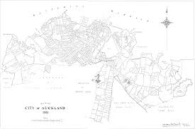 Map of the city of auckland 1921