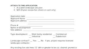 Lawn Care Contract Landscaping Template Sample Landscape