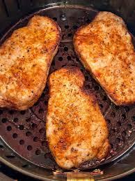 air fryer boneless pork chops melanie