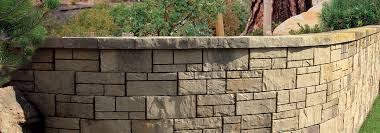 tandem wall segmental retaining wall system bricks belgard tandem wall