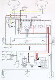 vw wiring diagrams 1973 vw beetle wiring diagram at Wiring Diagram For 1975 Vw Beetle
