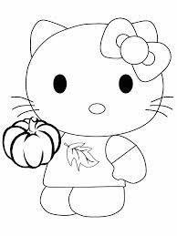 Hello Kitty Kleurplaat Hart
