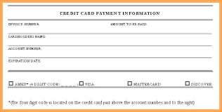 Automatic Withdrawal Form Template Credit Card Authorization Form Resume Lovely Template High