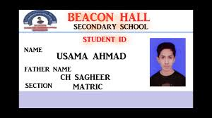 Tv How Ahmad Id Student Youtube Adobe Make 7 - usama To Card In 0 Photoshop