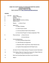 Board Meeting Agenda Template Magnificent Nonprofit Board Minutes Template