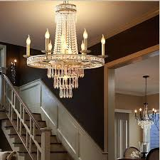 rustic country chandelier vintage french style crystal light home lighting chandeliers creative past in from lights