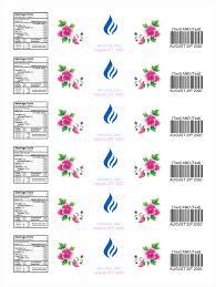 Water Bottles Templates Water Bottle Label Template Make Personalized Bottle Labels