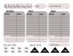 Judicious Calorie Counter Chart Free Download Excel Calorie
