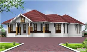 single y kerala home design building plans one story bungalow floor interiors
