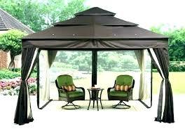 gazebo canopy grill gazebo metal hardtop canopy patio furniture metal grill gazebo garden treasures
