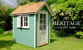 pictured heritage finished in pea green with georgian joinery home heritage garden shed