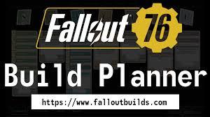 Fallout 76 Build Planner Perk Calculator All Perks