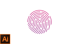 Fingerprint Design Fingerprint Logo Design Learn How To Design A Fingerprint Icon In Adobe Illustrator Ps Design
