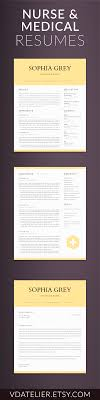 Nurse Resume Template Nursing Resume Template 100 Pages Nurse CV Template Registered 63