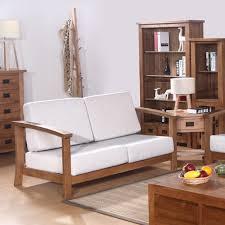 stylish living room furniture. European Wood Sofa Couch Living Room Furniture Simple And Stylish North  American Oak Curved Retro K