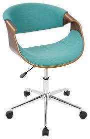 modern office chair no wheels. Modern Desk Chair Curvo Mid Century Office Midcentury Chairs No Wheels