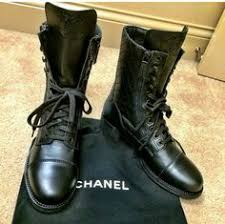 chanel quilted combat boots. chanel combat boots quilted