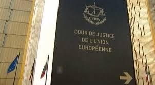 Resultado de imagen de tribunal europeo de justicia