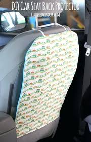 how to make car seat covers car seat back protector keep the backs of your seats how to make car seat covers