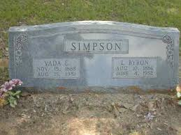 Lord Byron Simpson (1886-1952) - Find A Grave Memorial