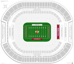 Arizona Cardinals Seating Guide State Farm Stadium