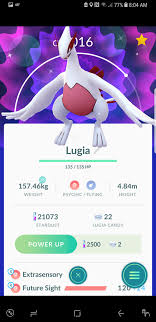 Screenshot] After raiding almost every day since Lugia came out, I had  almost given up hope, but today I finally got a shiny! : pokemongo