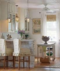 shabby chic lighting. Here\u0027s Another Great Example That Uses Old Nautical-style Lantern Lights The Breakfast Bar And A Really Pretty Vintage Light In Front Of Window. Shabby Chic Lighting G