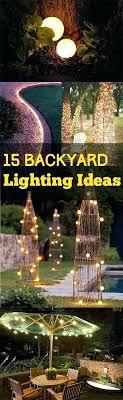 Outdoor patio lighting ideas diy Hanging Medium Diy Patio Lights String Landscaping Best Backyard Lighting Ideas On Yard And Outdoor Garden Gar Barneklinikkencom Outdoor Patio Lighting Ideas About Backyard On Backyards Throughout