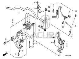 Acura Transmission Diagram