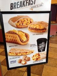 taco bell breakfast menu 2013. Fine Menu TacoBellrecentlyreleasedtheirnewbreakfastmenu On Taco Bell Breakfast Menu 2013