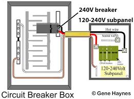 how to change 120 volt subpanel to 240 volt subpanel 120 240 Volt Wiring Diagram 120 volt and 240 volt subpanel 120 240 volt motor wiring diagram