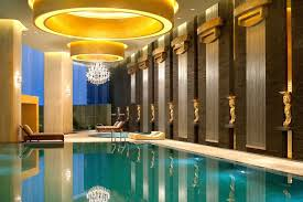 indoor swimming pool lighting. So, What Do You Think About Indoor Swimming Pool Designs With Low Lights And Grecian Statuettes Above? It\u0027s Amazing, Right? Just So Know, That Photo Is Lighting W