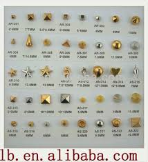 metal studs for clothing. antique metal round/square/ silver/brass decorative fashion design 13/5/ studs for clothing