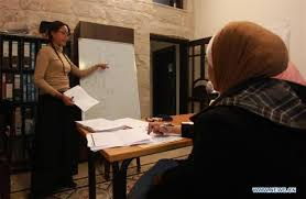 Young Palestinians learn Chinese to boost ties - China Plus
