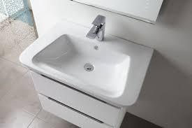tavistock equate 700mm white wall mounted vanity unit ceramic basin eq700w