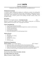 Assistant Probation Officer Sample Resume Inspiration Assistant Literary Agent Resume Example
