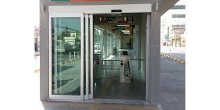 telescoping sliding glass doors