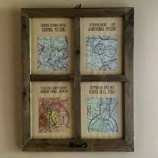 aviation sectional charts framed in wood perfect pilot gift aviation pilot flight flying