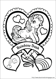 My Little Pony Printable My Little Pony Coloring Pages Printable