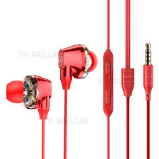<b>BASEUS Encok H10</b> [Dual Dynamic] [Built-in Mic] Wired Earphone ...