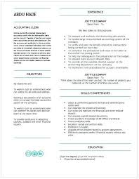 Title Clerk Sample Resume Delectable Accounting Assistant Resume Lovely Best Accountant Resumes