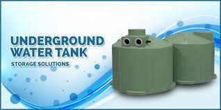 underground water tank storage solutions