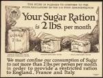rationed