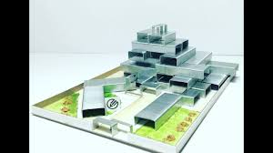 architectural engineering models. MODEL MAKING OF MODERN ARCHITECTURE Building Using STAPLES. Architectural Engineering Models