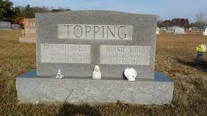 Minnie Riggs Topping (1902-1979) - Find A Grave Memorial