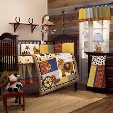 cowboy crib bedding set