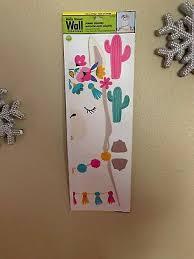 llama head cacti wall stickers 10
