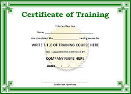 samples of certificates 24 certificate template