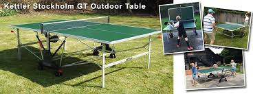 kettler stockgolm gt outdoor table tennis table